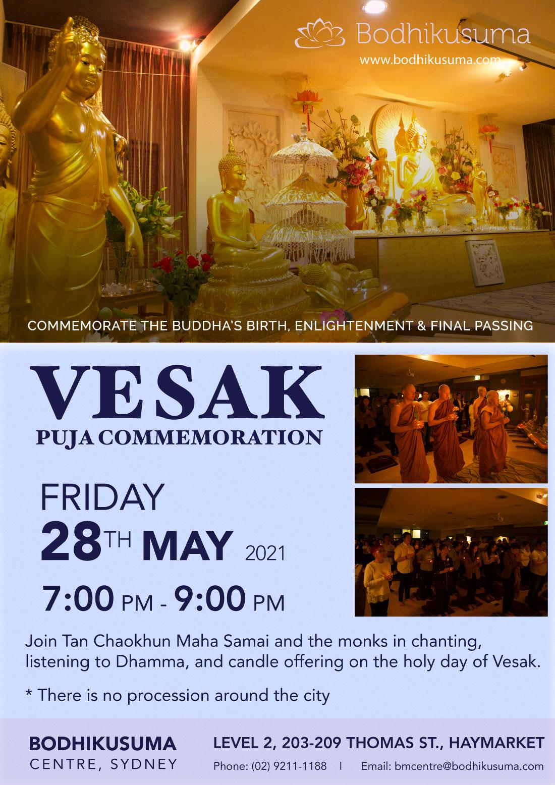 Vesak Puja Commemoration